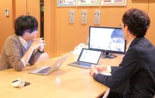 ベトナム企業とビデオ通話で打ち合わせ