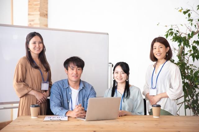 パソコンとチーム